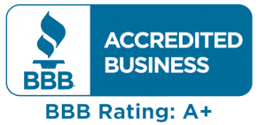 we are accredited business A+
