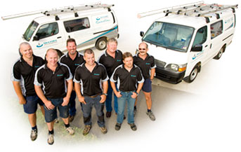 some of our plumbers in Moraga, CA getting ready for a plumbing job